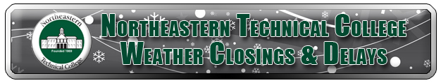 NETC Weather closings and delays